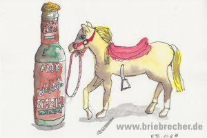 Flasche_Pferd_Stilleben