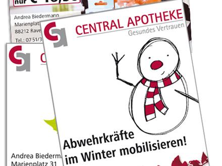 Central Apotheke Flyer