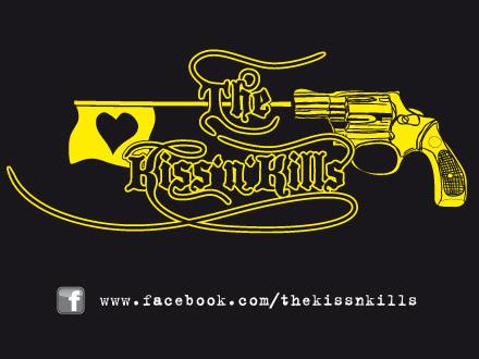 The Kiss'N'Kills Aufkleber