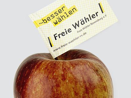 Freie Wähler Apfel Teaser