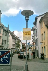 Plakat (Hohlkammerplatte)